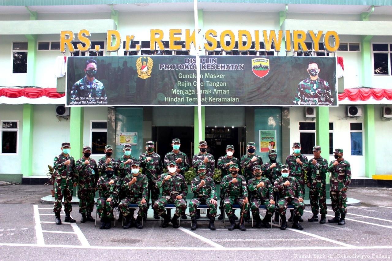 Kunjungan Wasrik ITPUSKESAD Ke RS. dr. Reksodiwiryo Padang